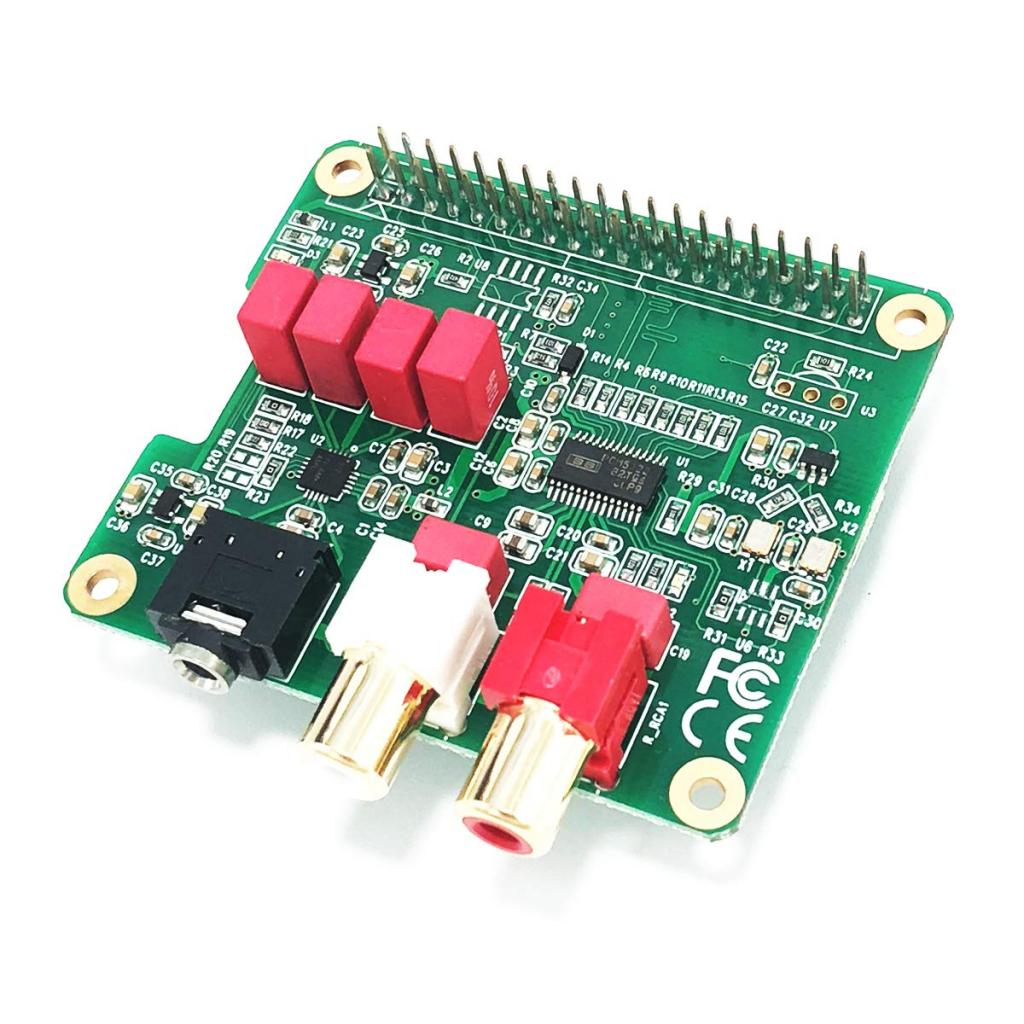 HIFI DAC module for Raspberry Pi