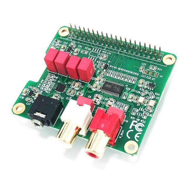 A product image for HIFI DAC module for Raspberry Pi