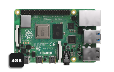 Raspberry 4GB model
