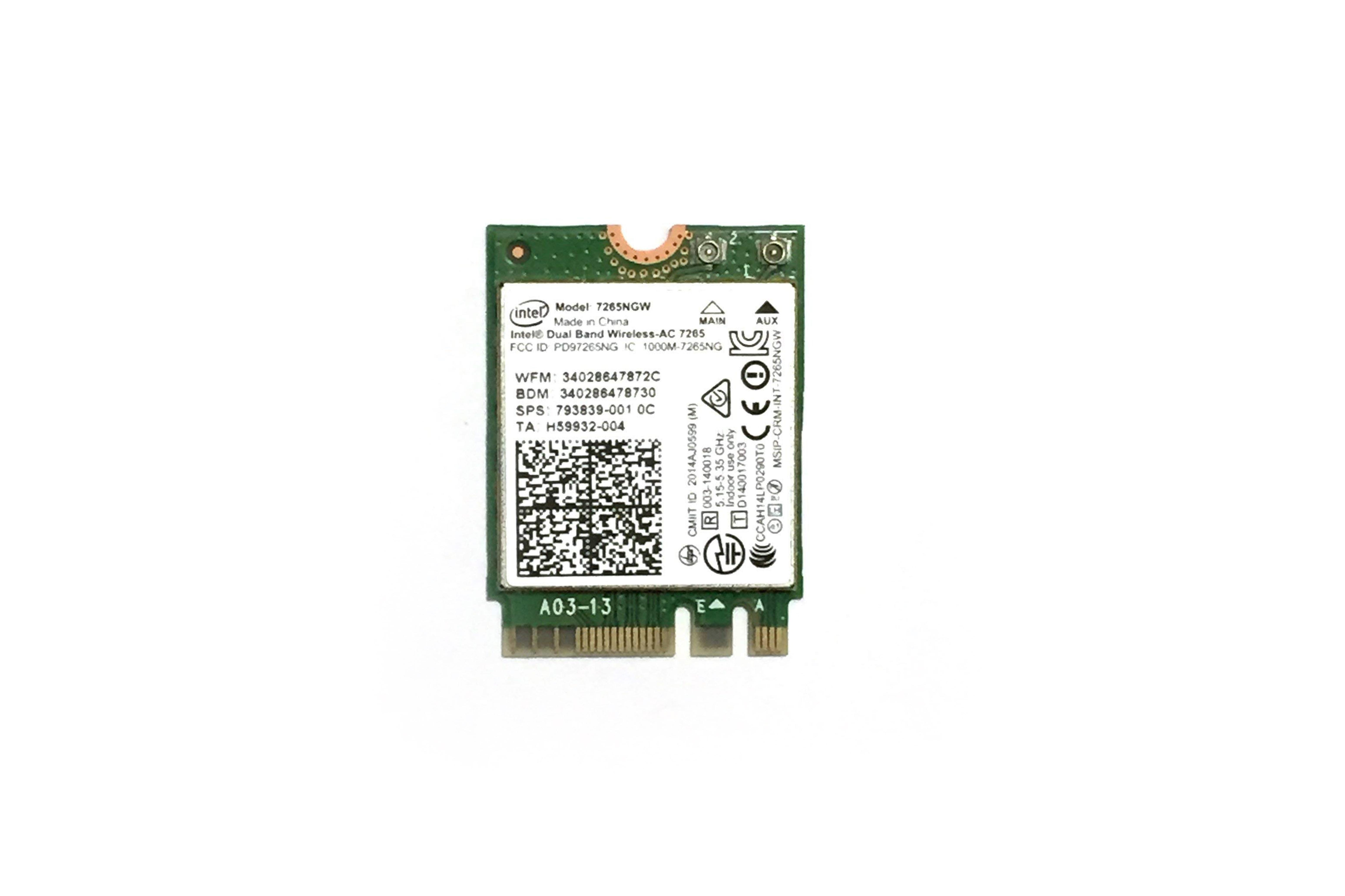 インテル デュアルバンドワイヤレスAC 7265アダプター