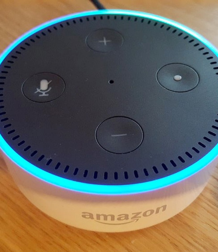 Control a JustBoom with Alexa