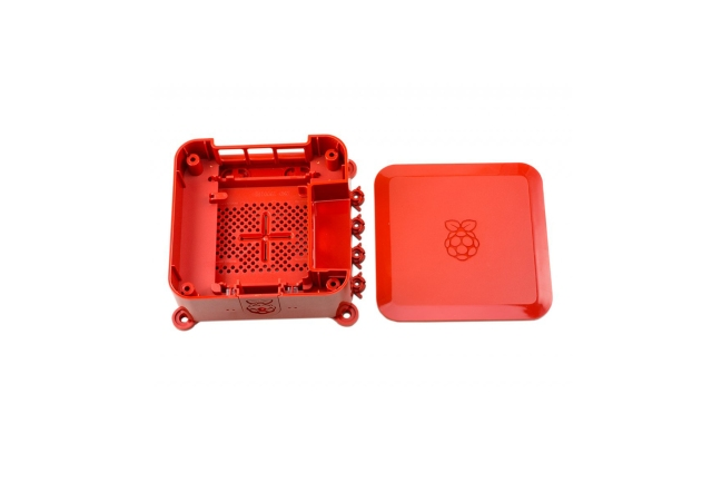 A product image for Quattro Case with Vesa – レッド