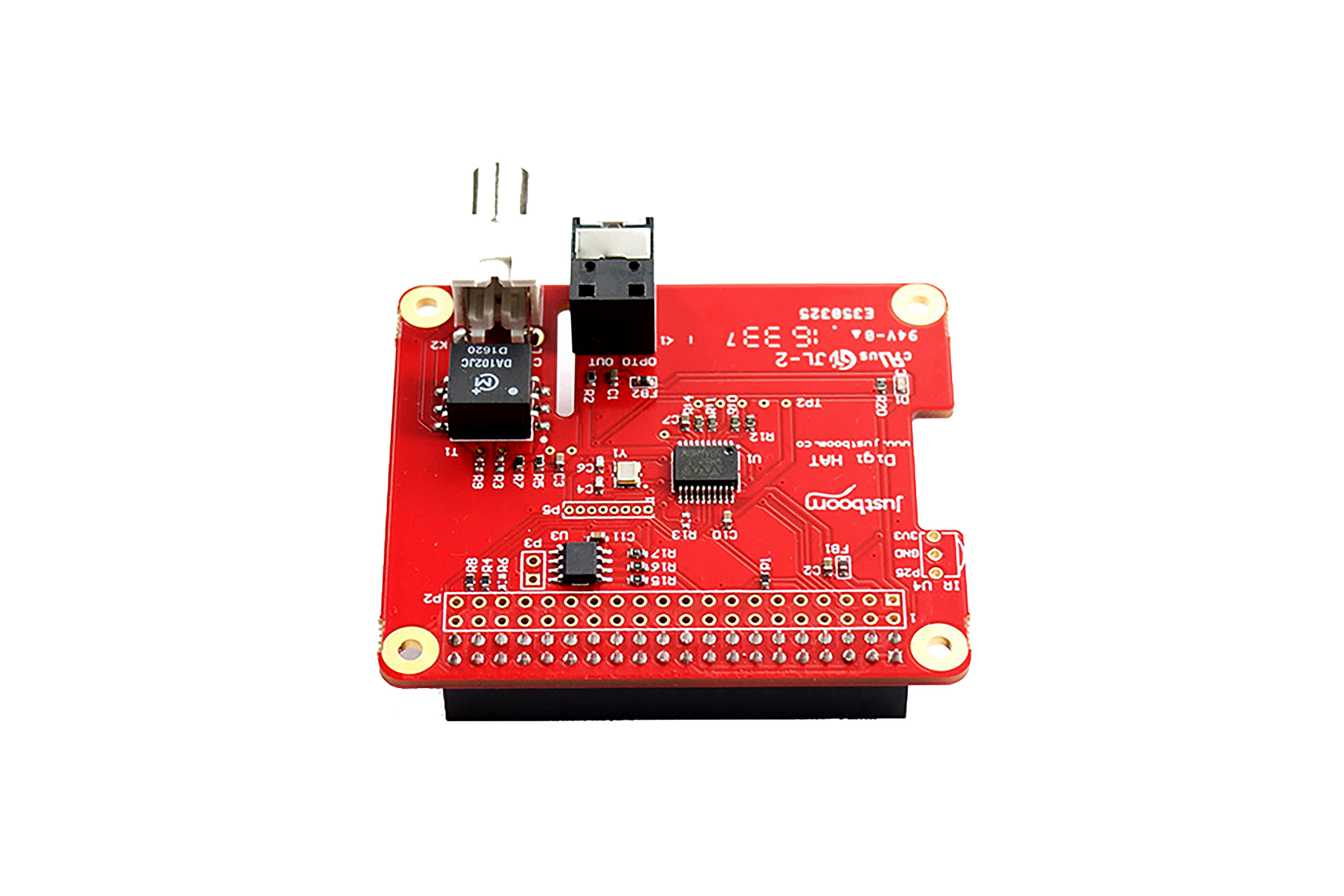 JustBoom Digi(ディジ) HAT(Raspberry Pi(ラズベリーパイ)用)