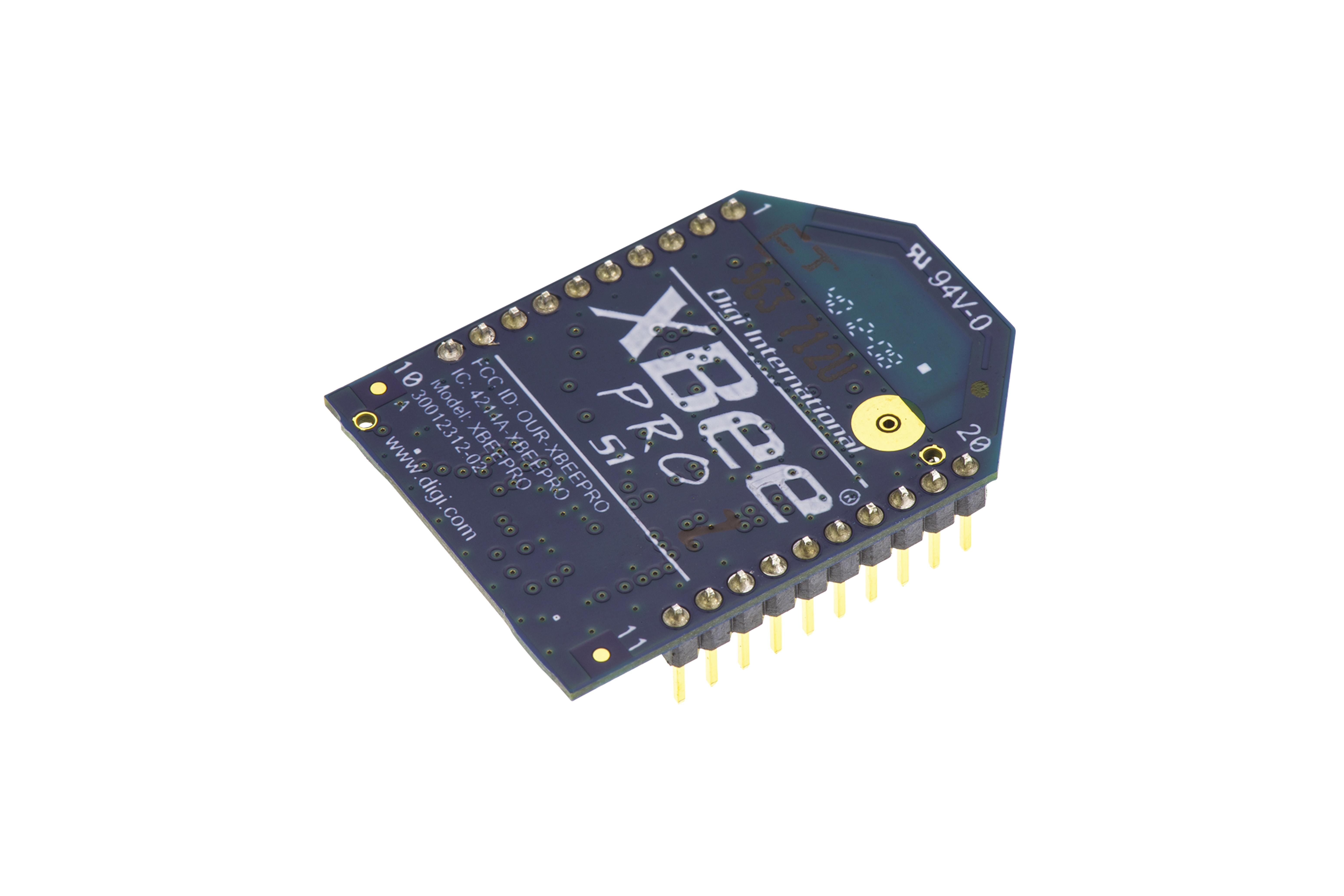 XBee-Pro(ジグビー・プロ)RF Moduleチップアンテナ、10mW