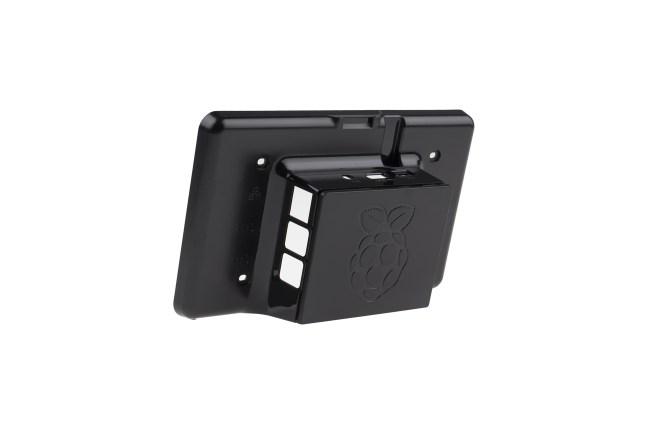 A product image for Raspberry Pi(ラズベリーパイ)タッチスクリーンケース – ブラック