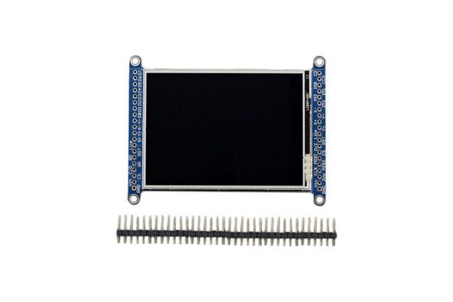 A product image for 2.8インチ LCDタッチスクリーン ブレイクアウトボード