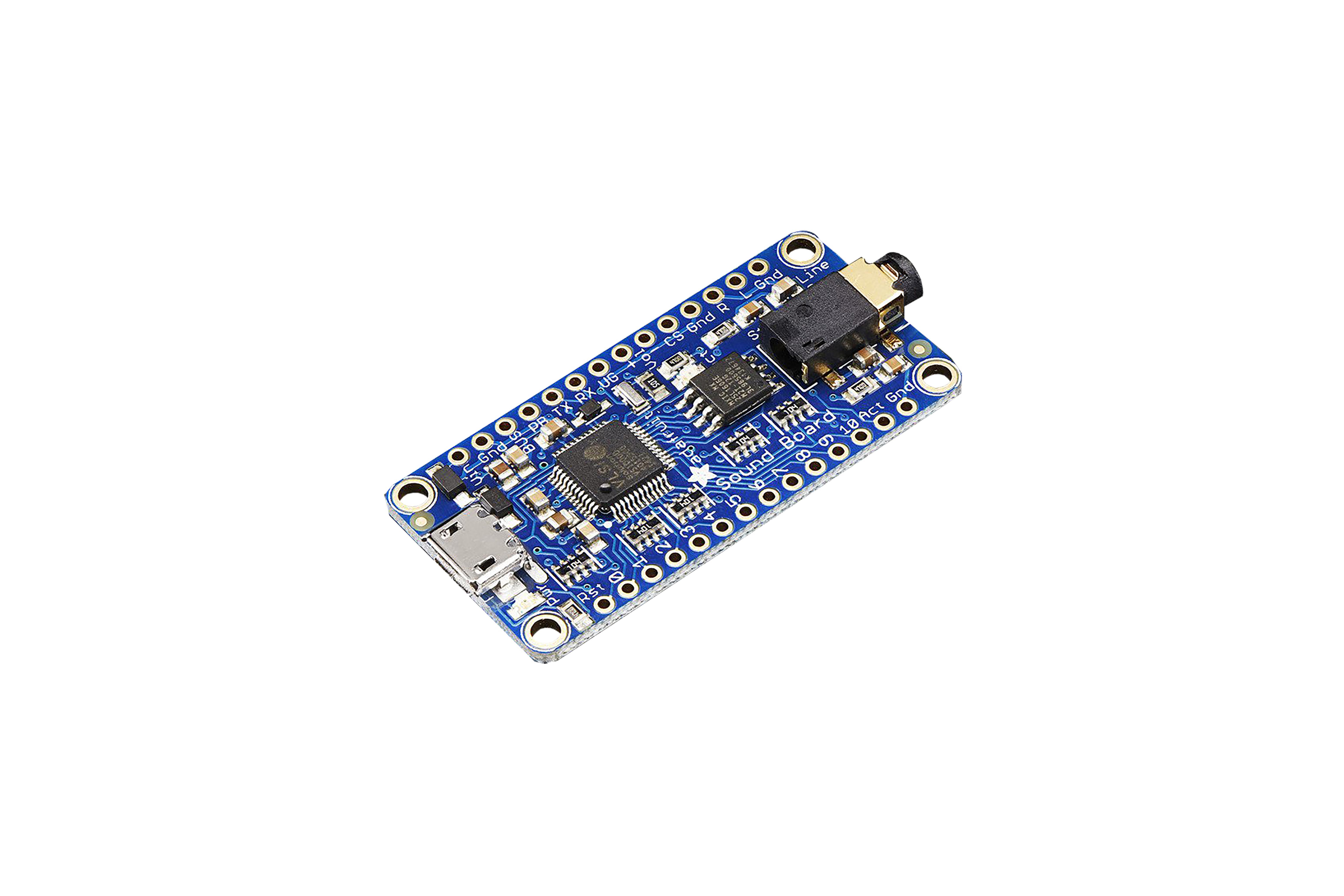Adafruit(アダフルーツ) オーディオ FX サウンドボード 2MB フラッシュ