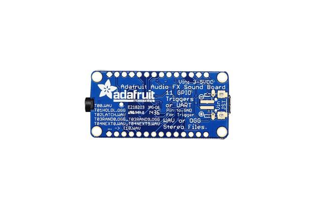 A product image for Adafruit(アダフルーツ) オーディオ FX サウンドボード 2MB フラッシュ