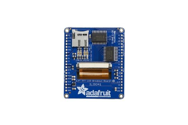 A product image for Adafruit(アダフルーツ)2.4インチLCD タッチスクリーンボード