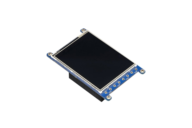 A product image for PiTFT Plus 2.8in LCD Touchscreen for Pi