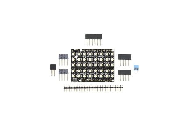A product image for NeoPixel シールド 40 RGBW LED シールド 6000K