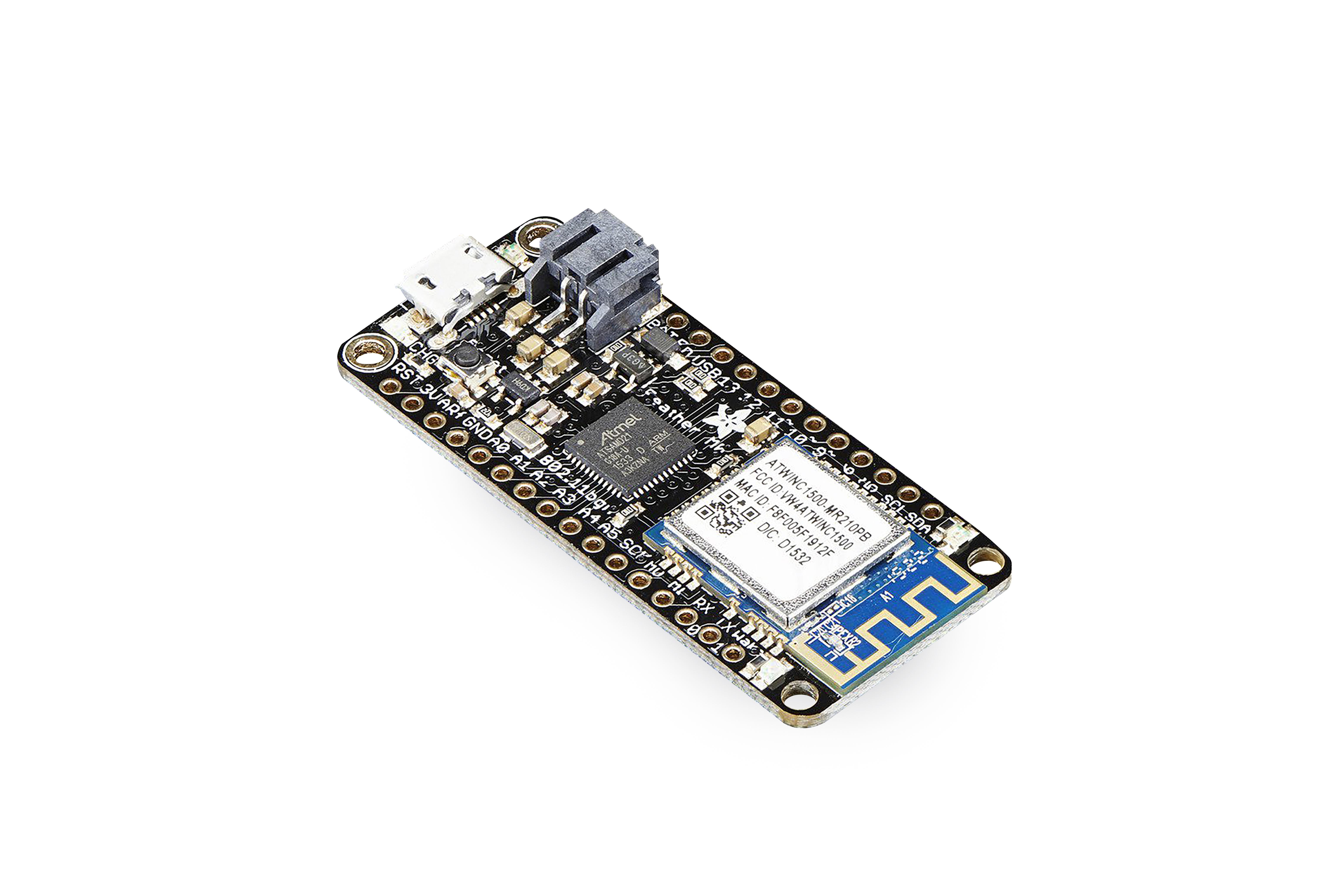 Adafruit Feather(アダフルーツ・フェザー)M0 WiFi開発ボード