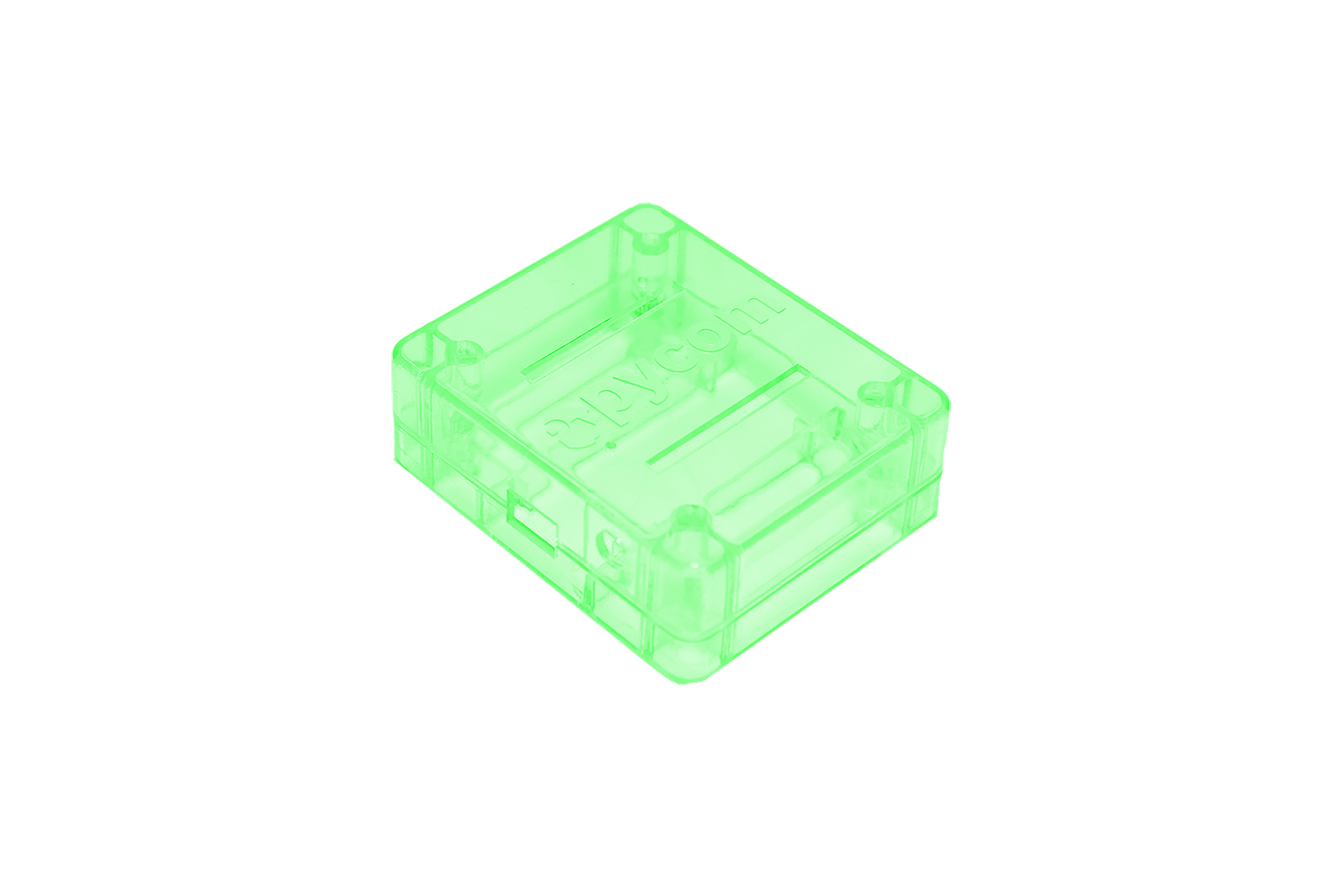 WIPY/LOPY/SIPY ボード用ケース - グリーン