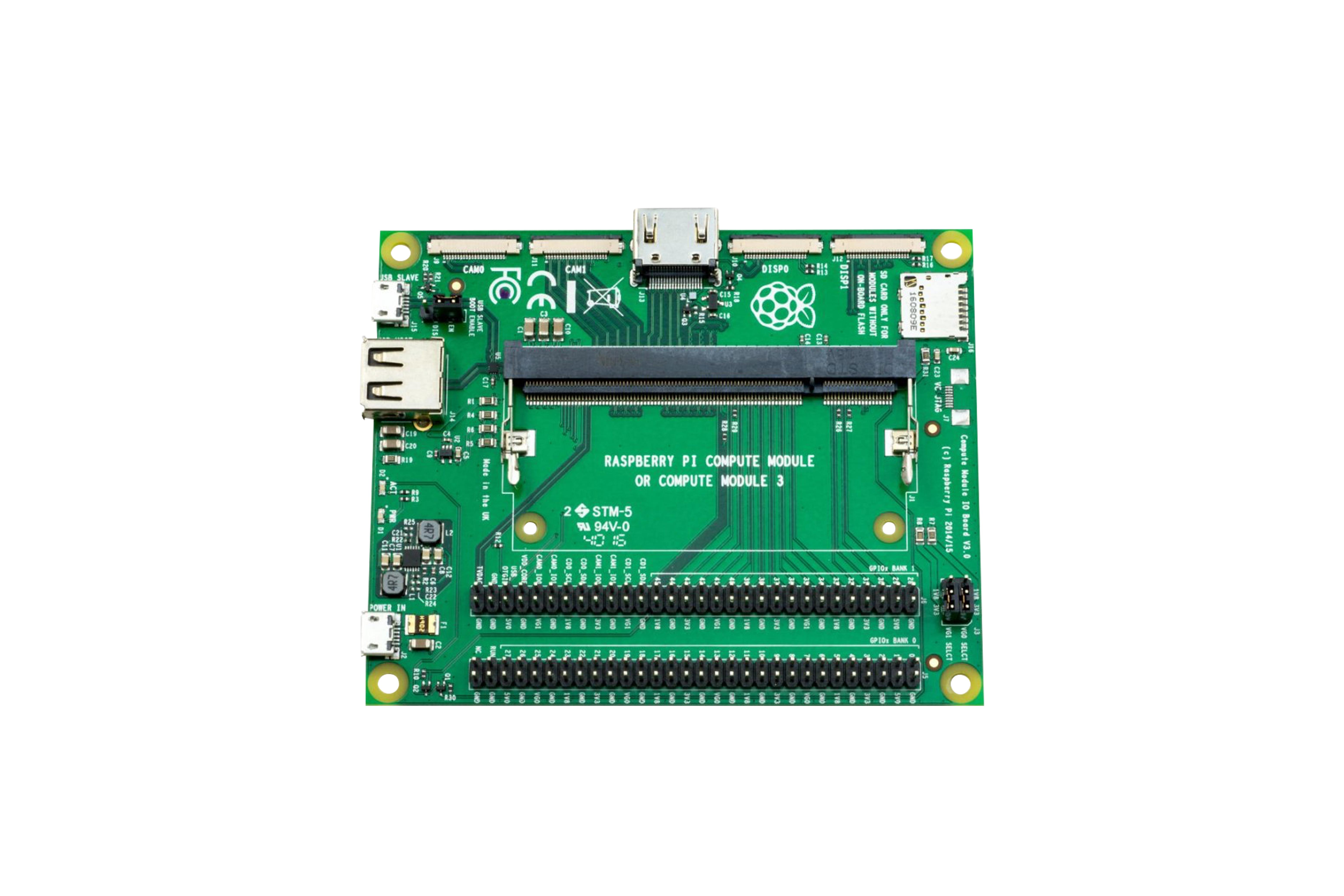 Raspberry Pi(ラズベリーパイ)Compute Module 3開発キット