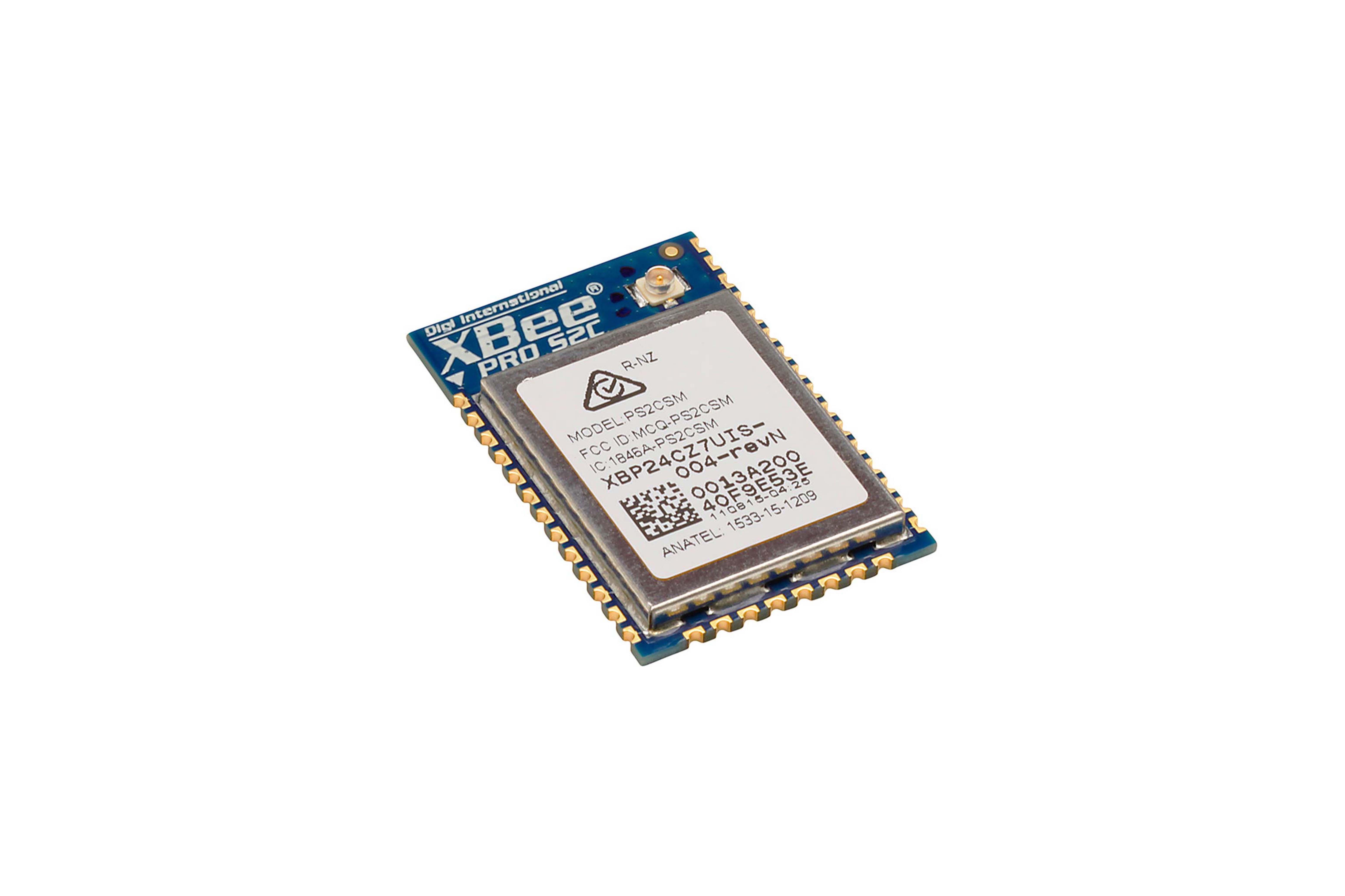 XBee-PRO(ジグビー・プロ) ZB SMT(ZigBee PROセット)、63mW