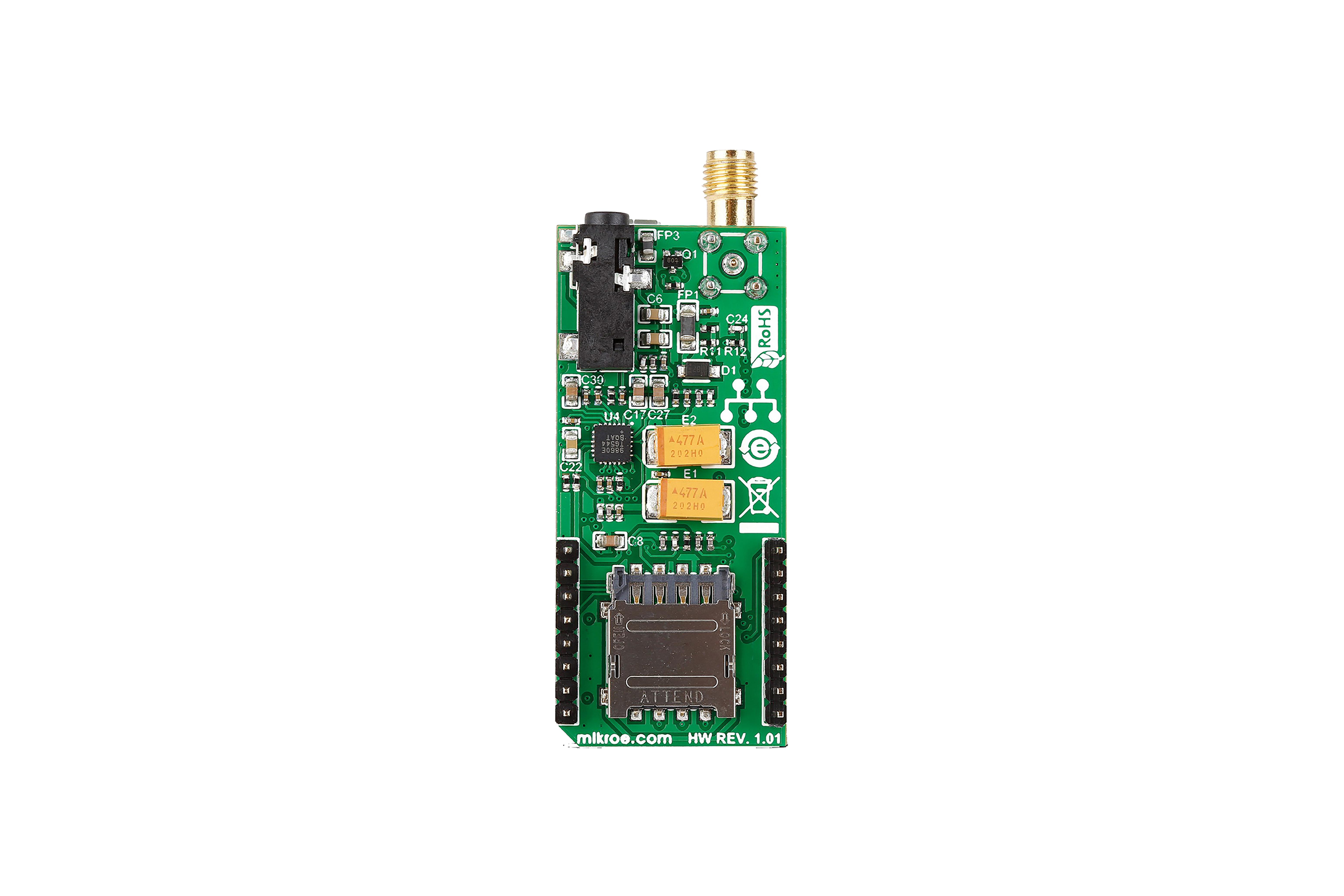 3G-EA Click Board(EUとオーストラリア)
