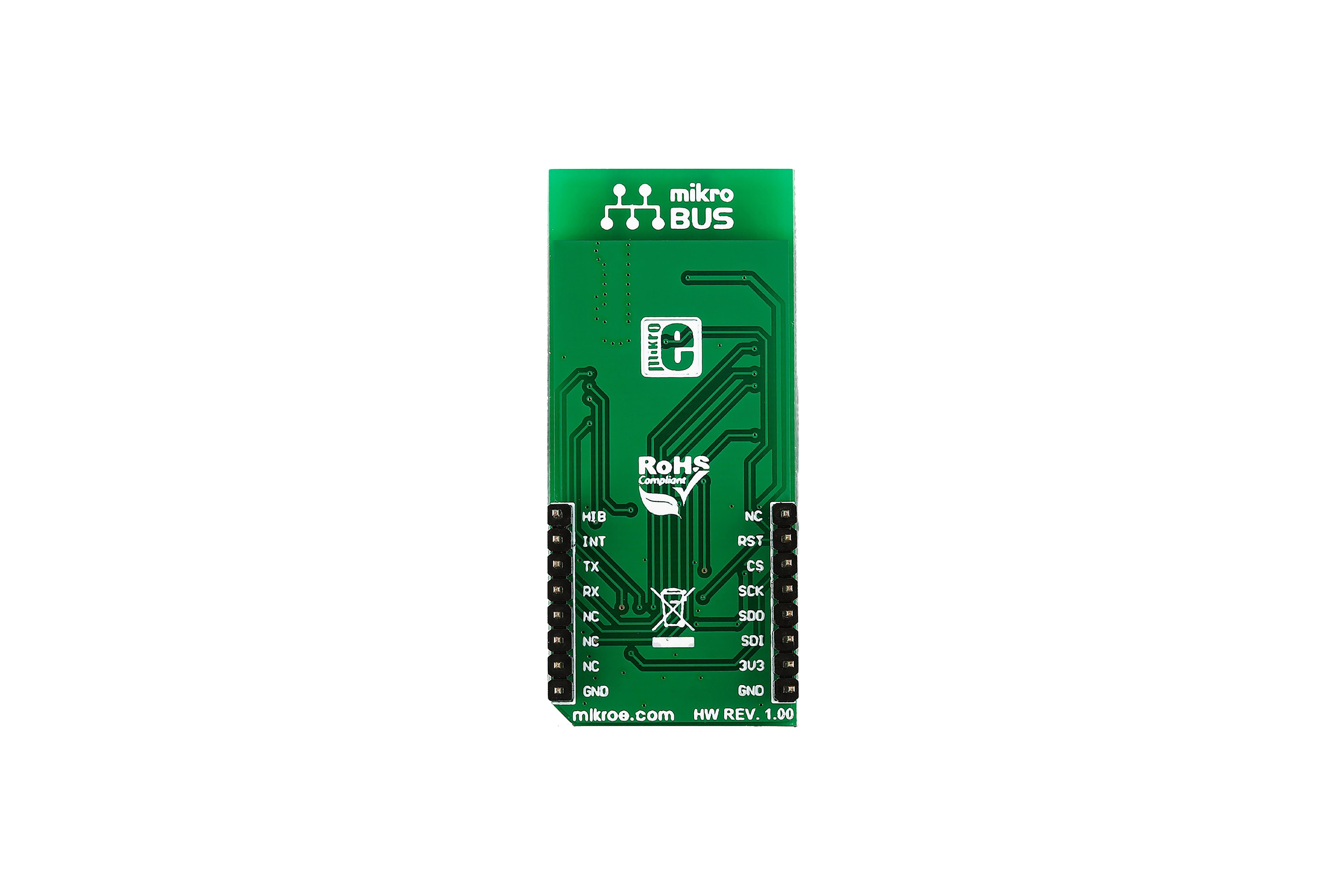 CC3100 クリック WIFI IOTボード、MIKROE-2336