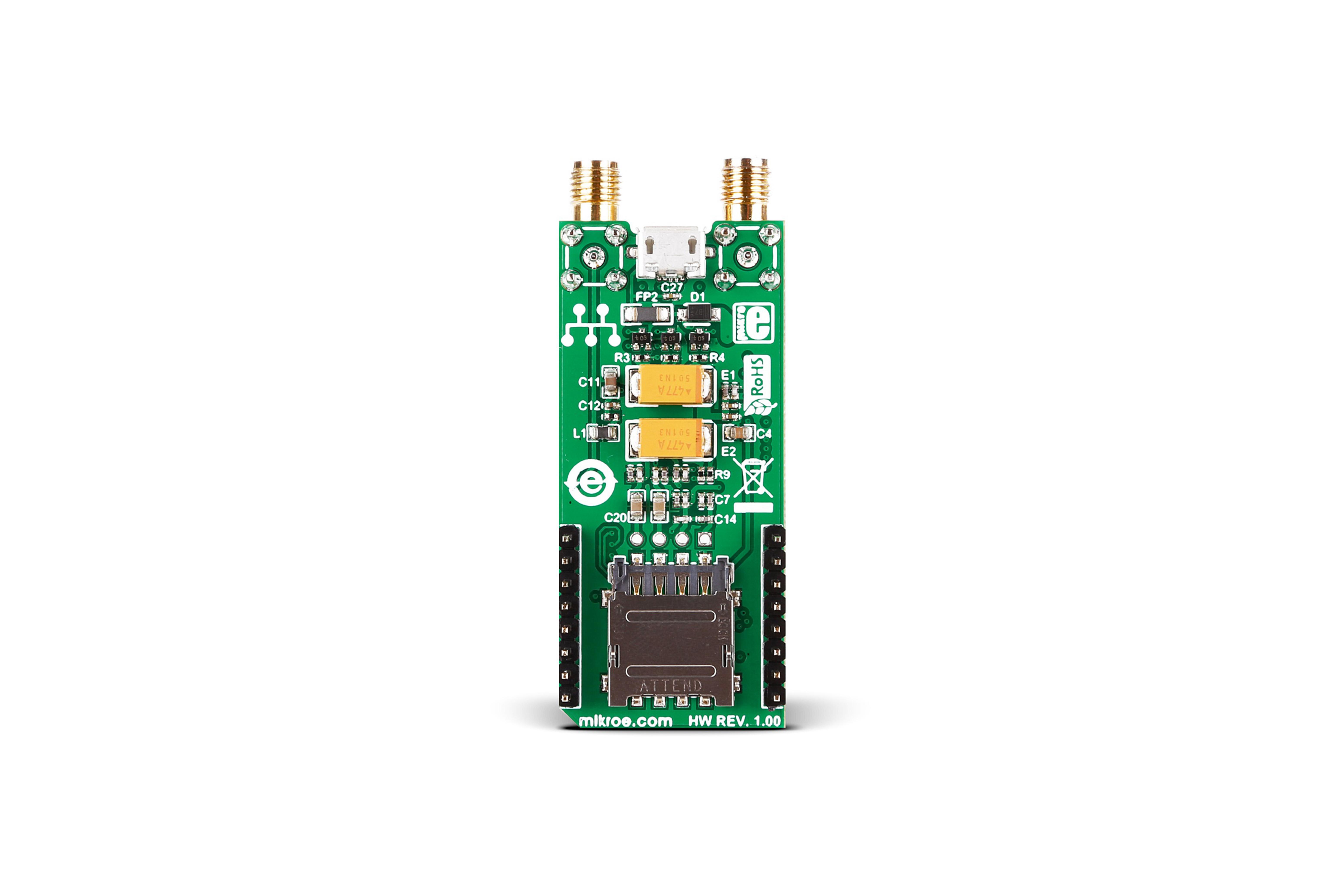 GSM-GPS クリックトランシーバボード