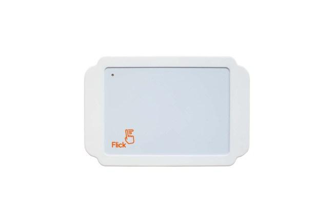 A product image for フリック ラージケース – オレンジ/ホワイト