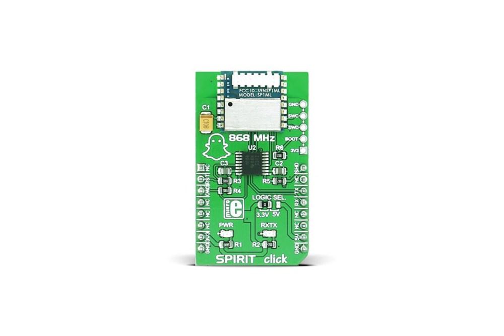 MikroE SPIRIT クリック RFボード、MIKROE-2568
