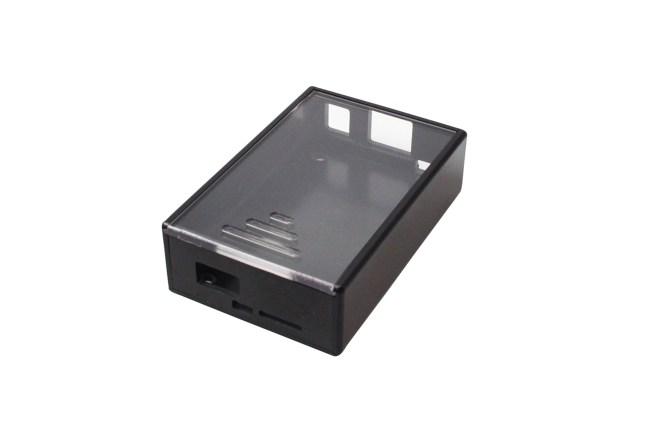 A product image for Beaglebone(ビーグルボーン)ブラックケース – ブラック/クリア