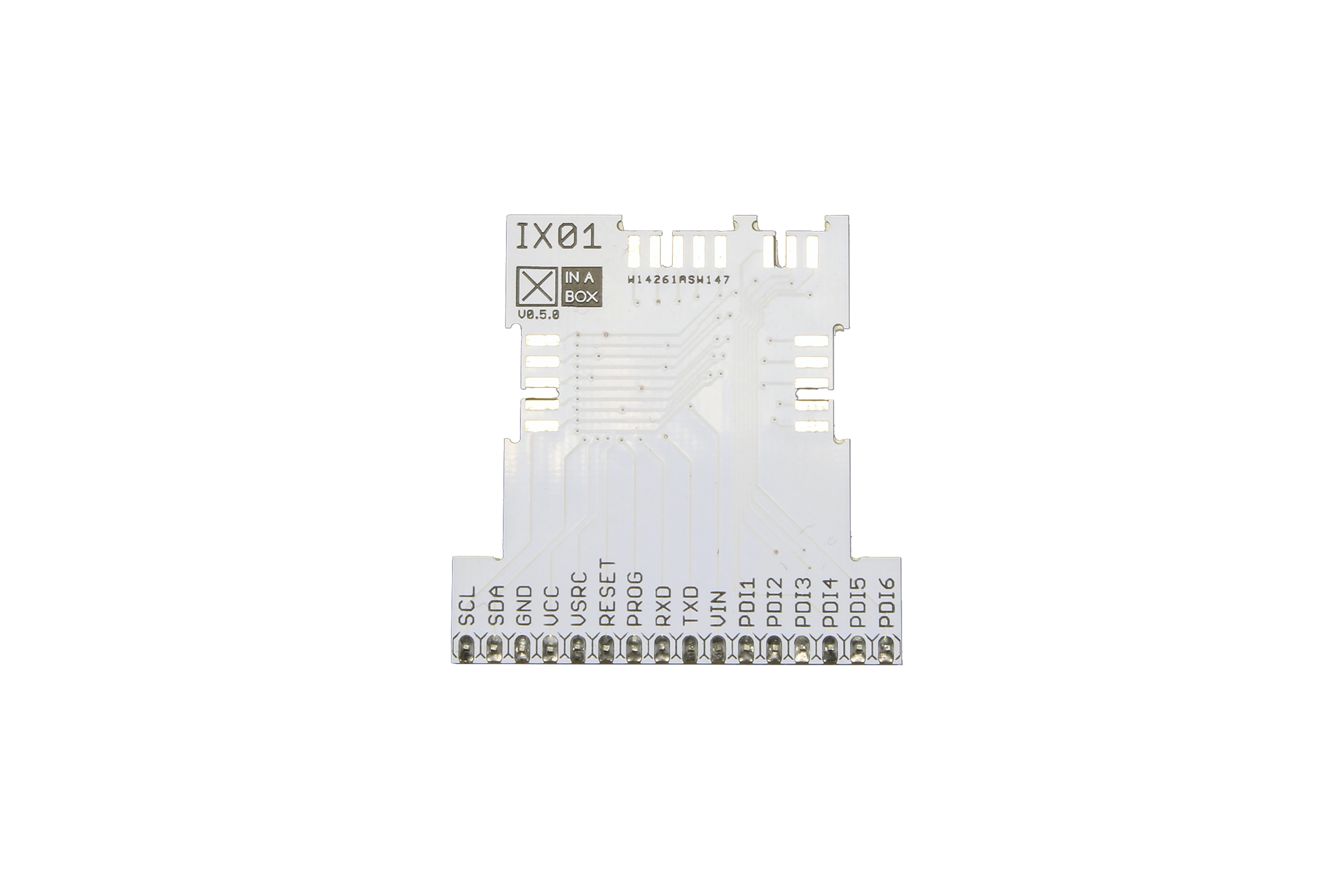 XinaBox、xBUSおよびxPDIブレークアウトI2Cモジュール、IX01
