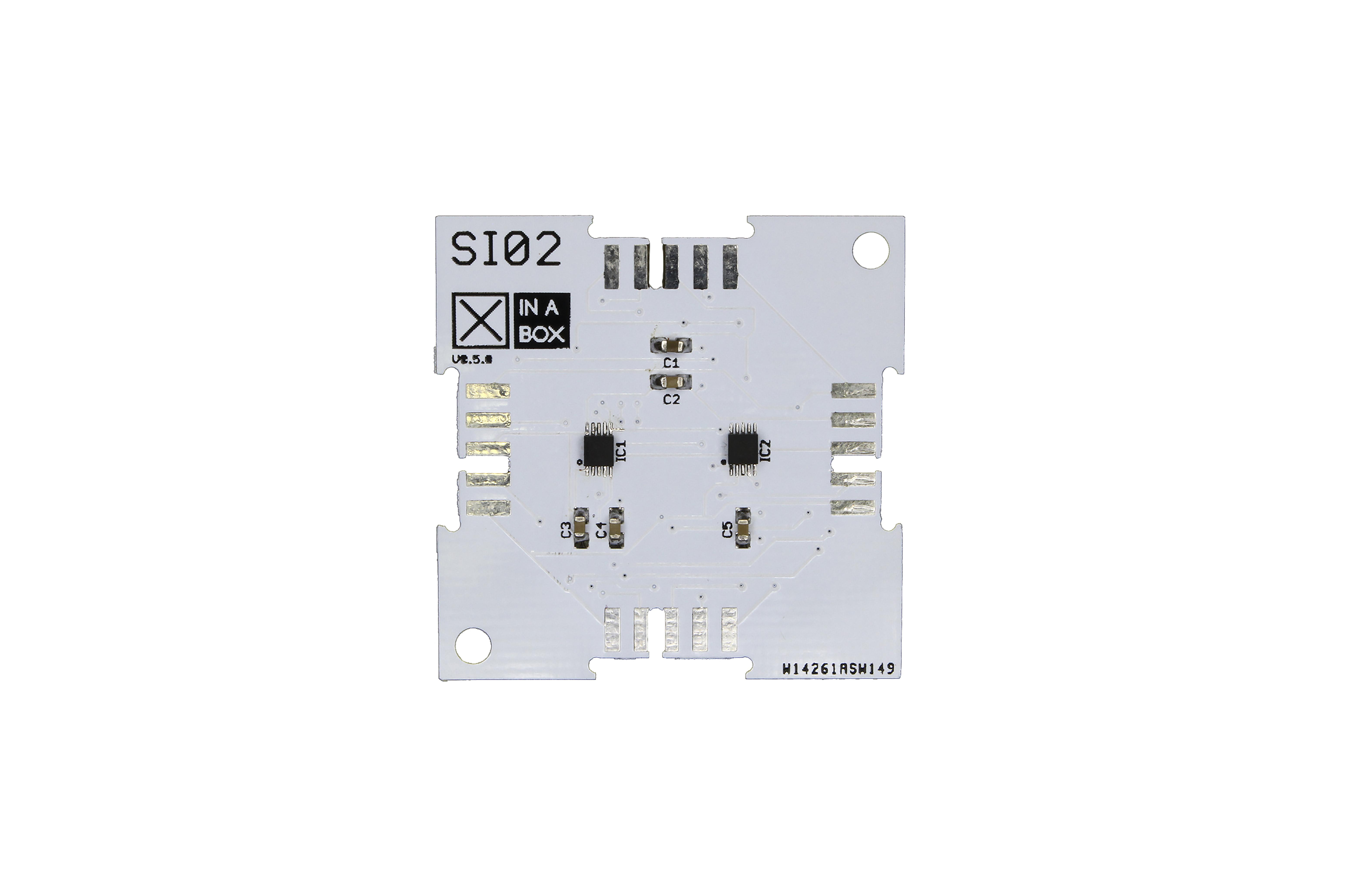 IMU 6DoF(MAG3110およびMMA8653fc)