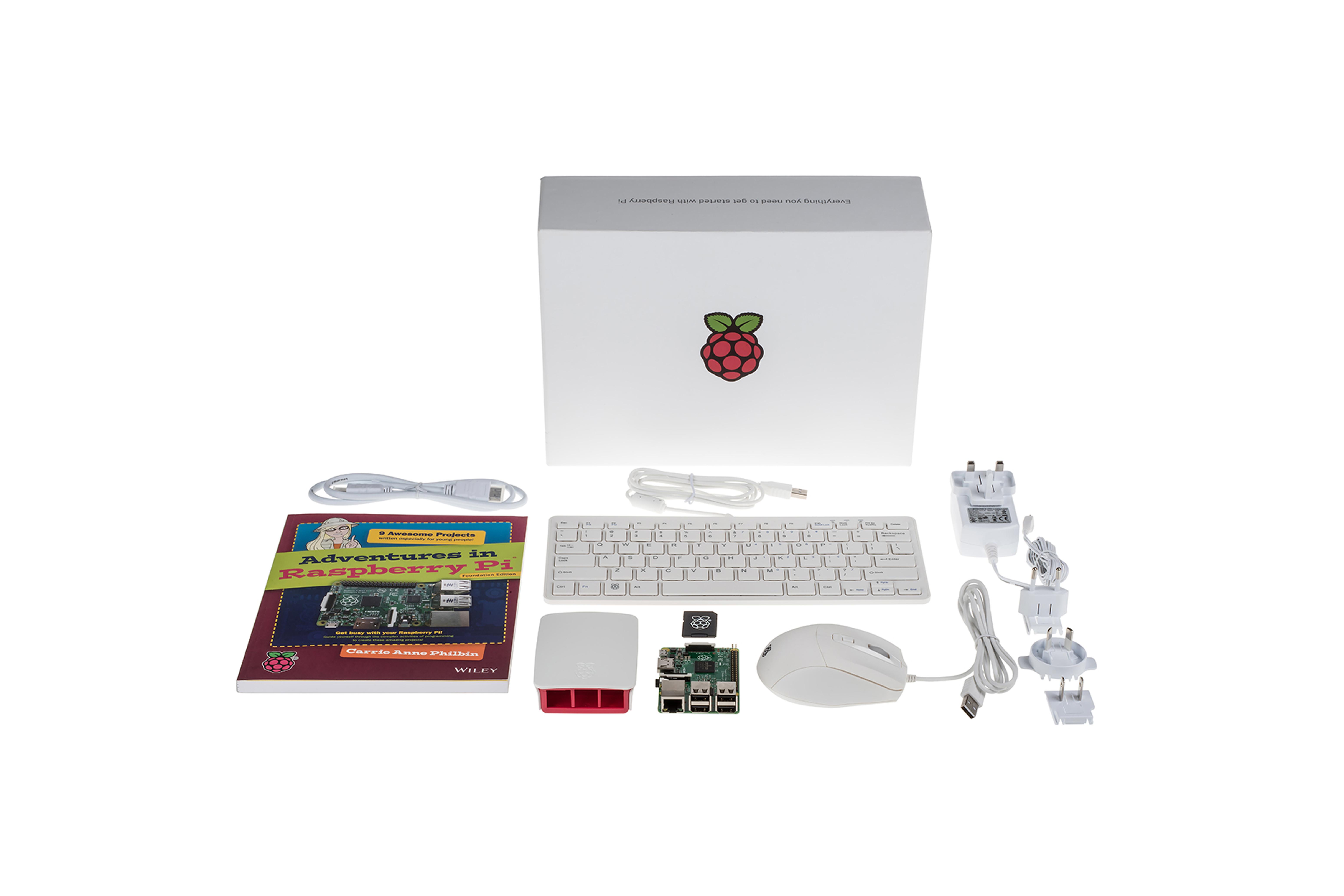 Raspberry Pi(ラズベリーパイ)3スターターキット