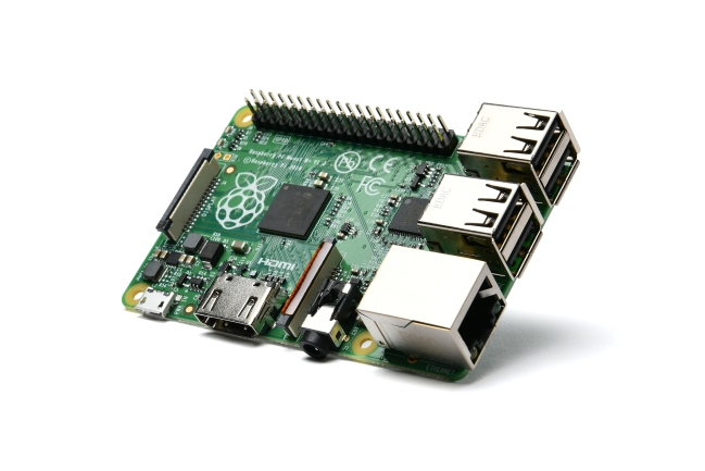A product image for Raspberry Pi(ラズベリーパイ)Model B+