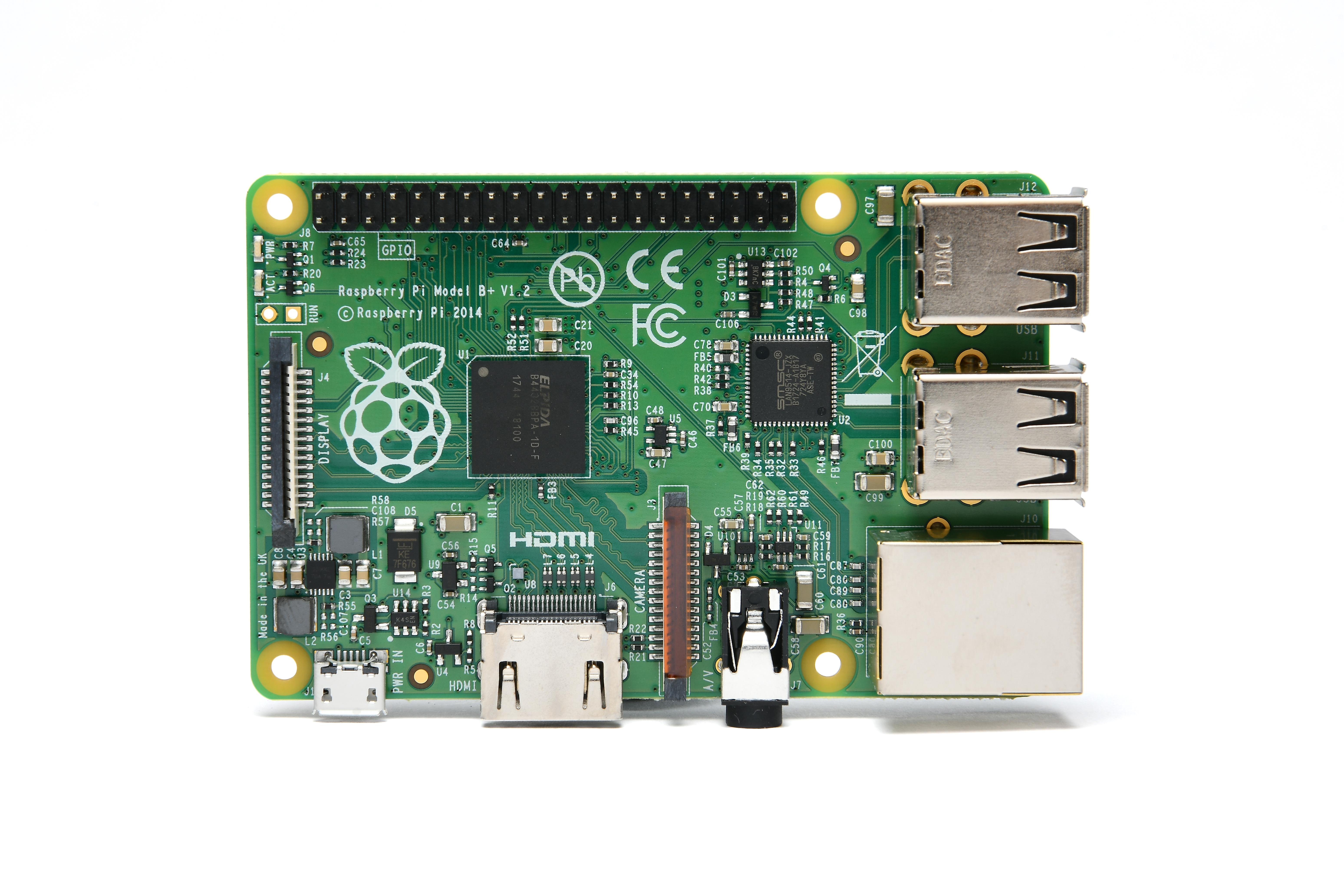 Raspberry Pi(ラズベリーパイ)Model B+