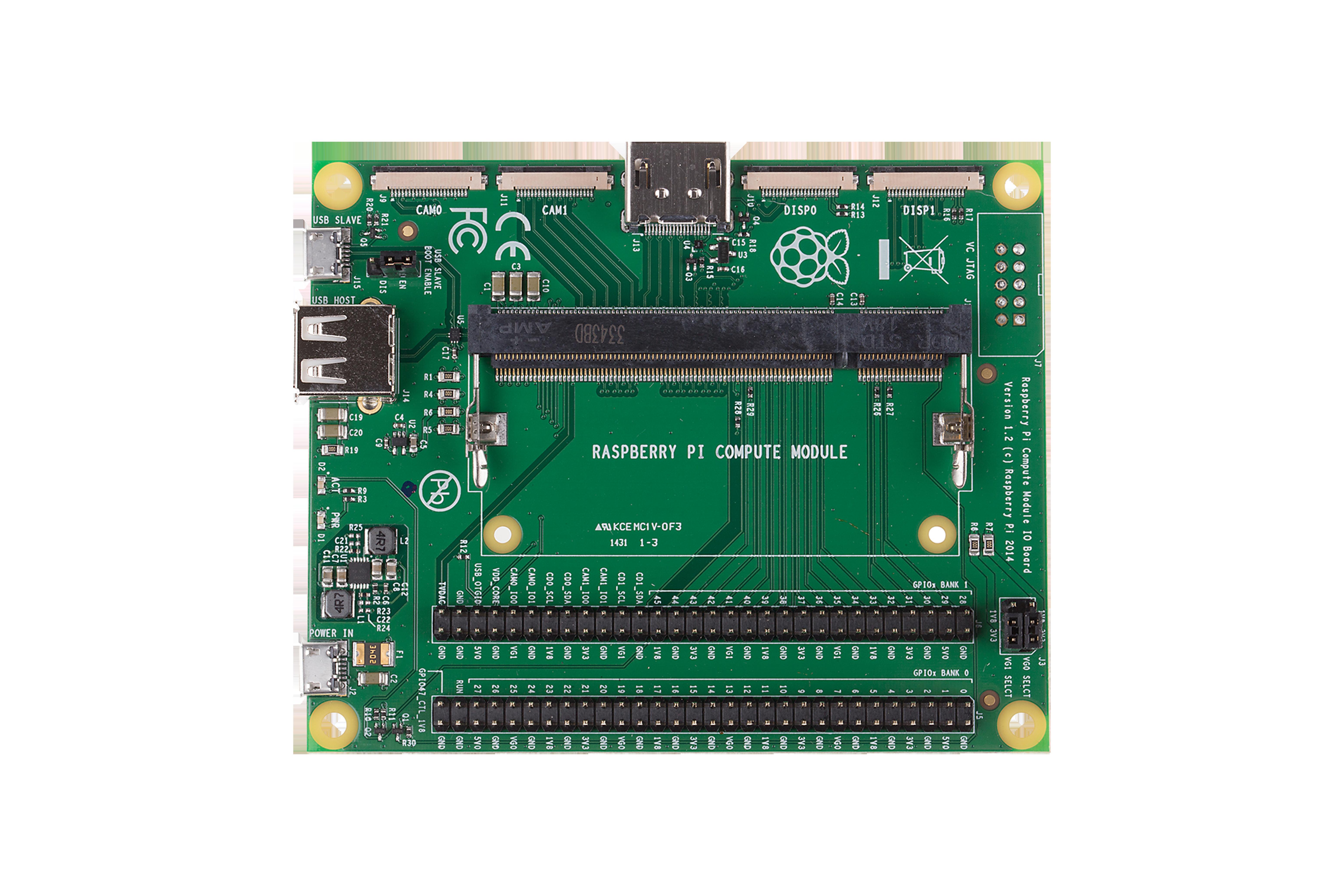 Raspberry Pi(ラズベリーパイ)コンピュートモジュール3 + 開発キット