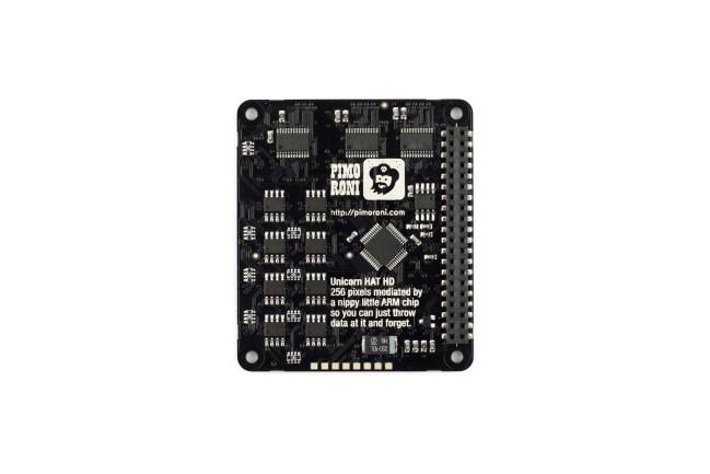 A product image for Unicorn HAT PI用 HD RGB LED マトリックス