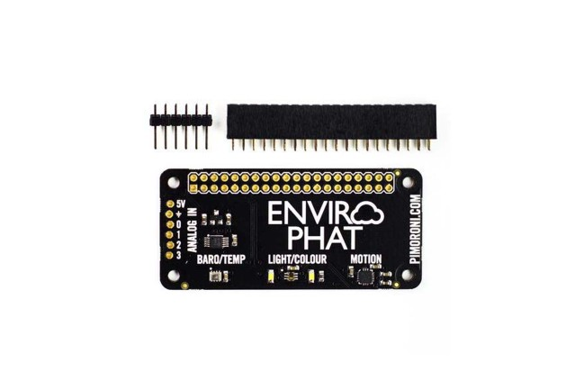 A product image for Enviro pHAT Raspberry Pi(ラズベリーパイ)用センサーボード