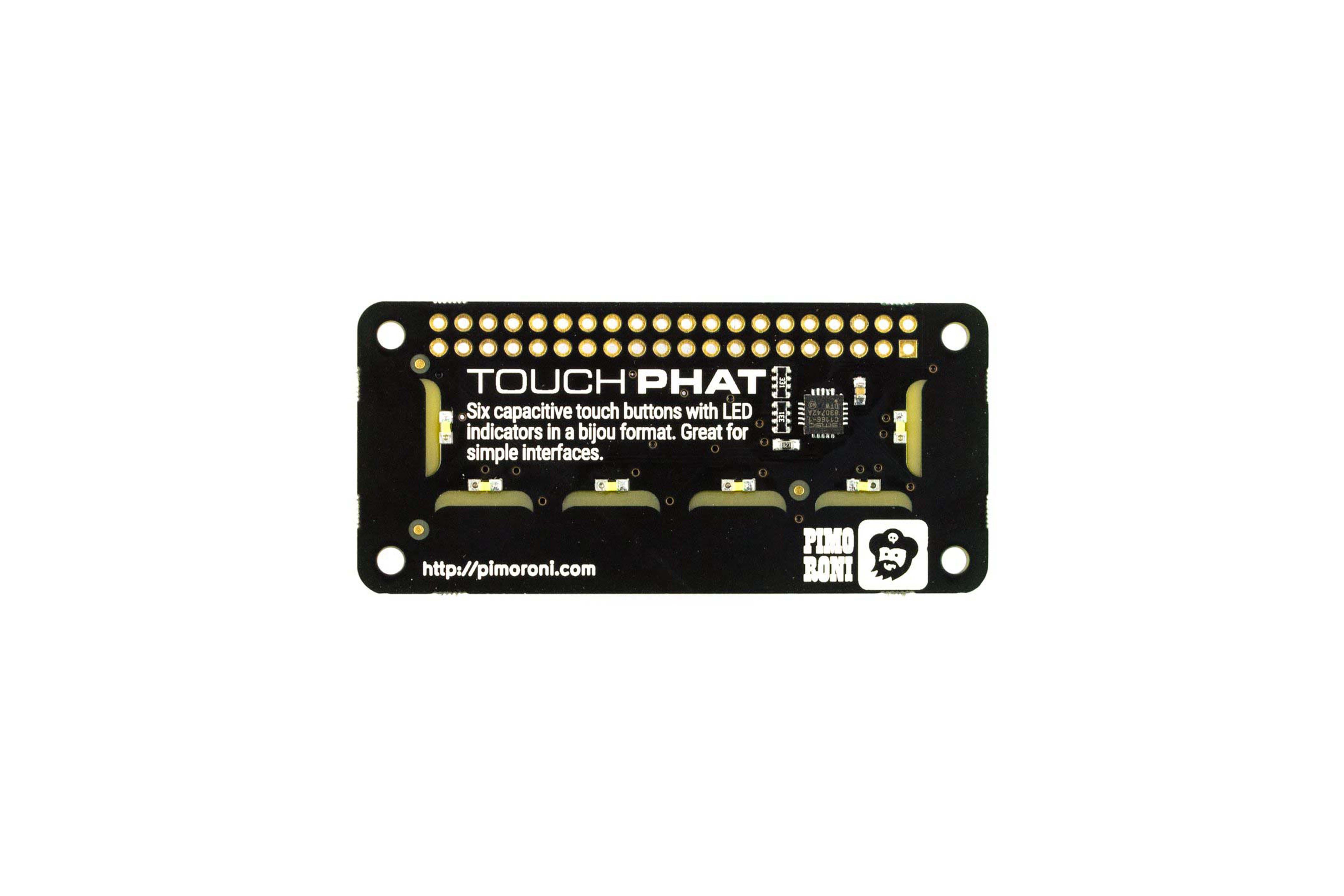 Touch pHAT Pi用 静電容量式タッチボード