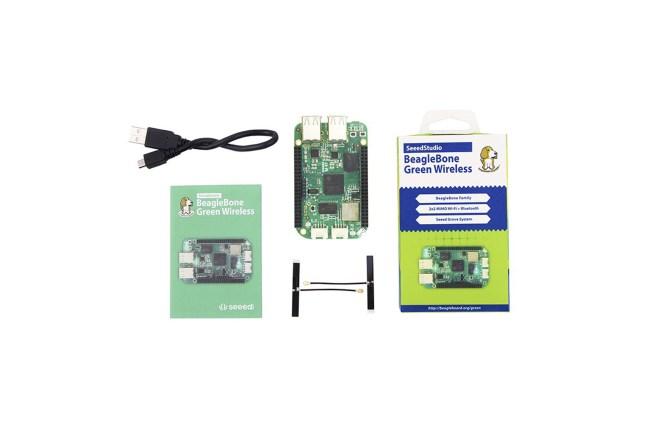 A product image for SeeedStudioBeagleBone®グリーンワイヤレス