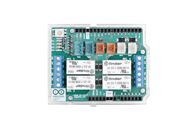 A product image for Arduino(アルドゥイーノ)4リレーシールド