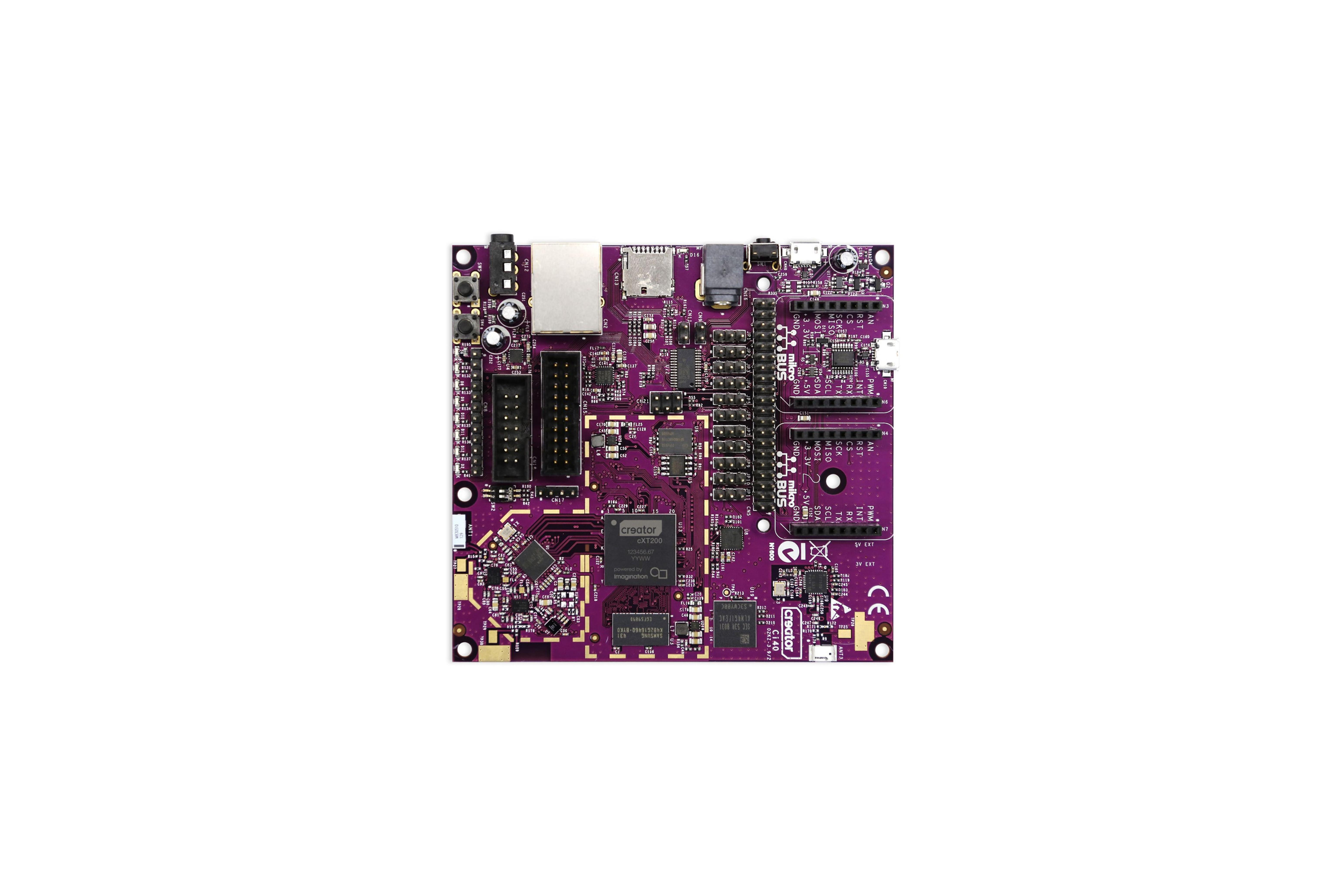 クリエイター Ci40 IoT ハブコンピューターボード WiFi
