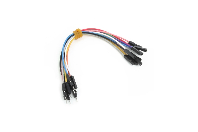 A product image for Wire Jumpers(オス-メス)10個
