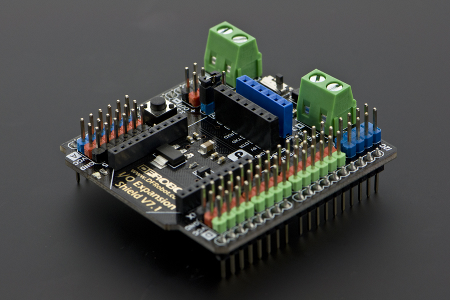 Gravity: IO Expansion Shield for Arduino V7.1