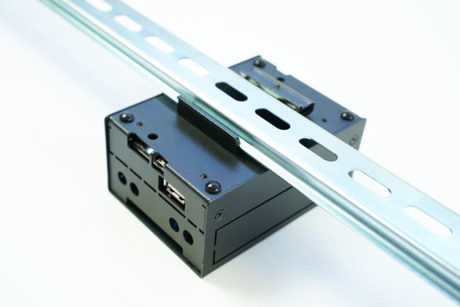 A product image for KKSB Beaglebone Black & Beaglebone AI Case DIN RAIL
