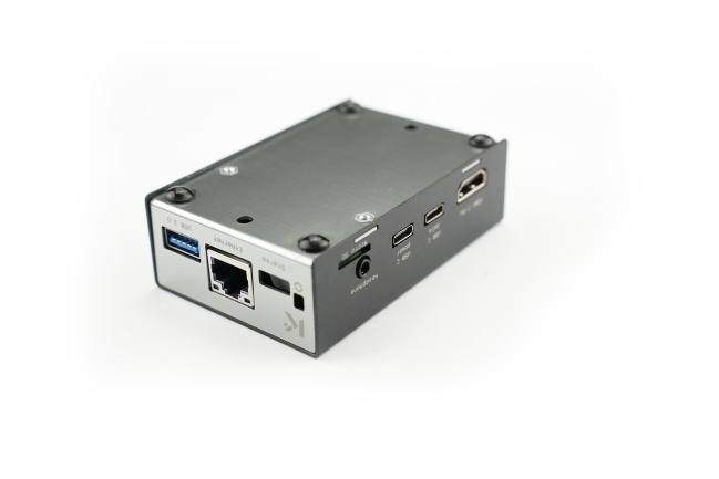 A product image for KKSB Coral Dev Board Case (Google)