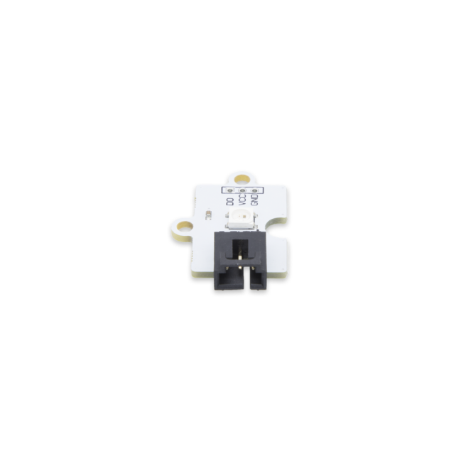 A product image for Pi Supply LED RGB Octopus プラットフォーム評価拡張ボードです