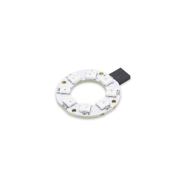 A product image for Pi Supply 8 RGB レインボー LED