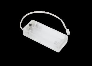 Pi Supply クリアバッテリボックス(マイクロビット用単四電池 x 2