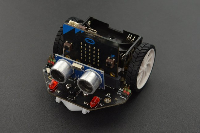 A product image for DFRobot micro: Maqueen Lite micro:bit Robot Platform