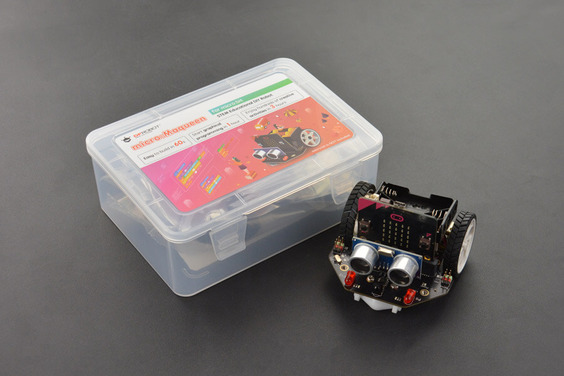 A product image for DFRobot micro: Maqueen Lite micro:bit Robot Platform