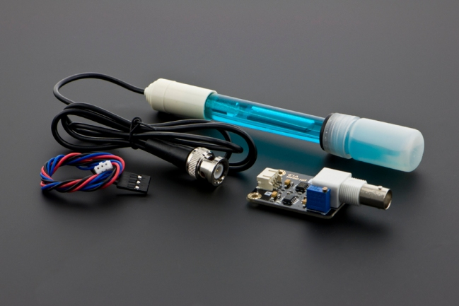 A product image for Gravity: Analog pH Sensor / Meter Kit For Arduino