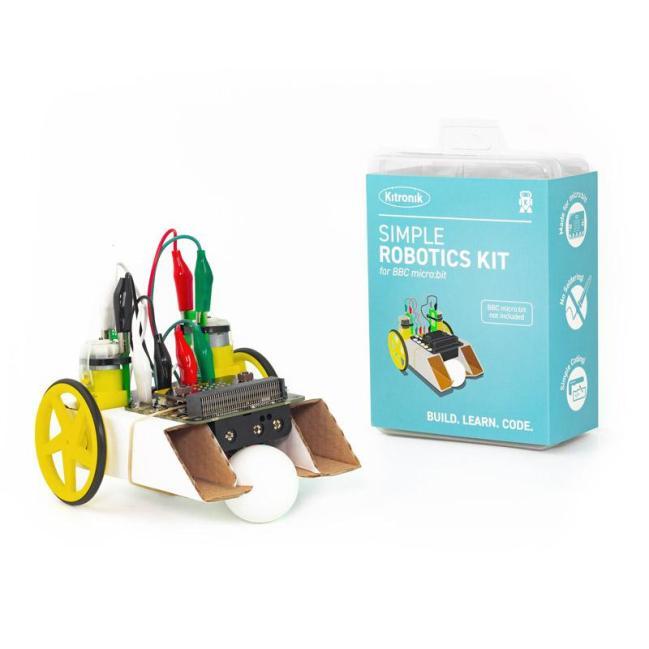 A product image for Kitronik Simple Robotics Kit for the BBC micro:bit – Single Pack