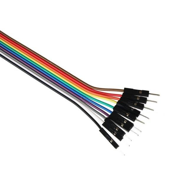 A product image for Jumper Wires 20cm M/M, pack of 40