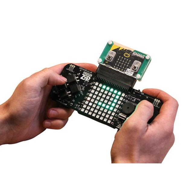 A product image for Kitronik :GAME ZIP 64 for the BBC micro:bit